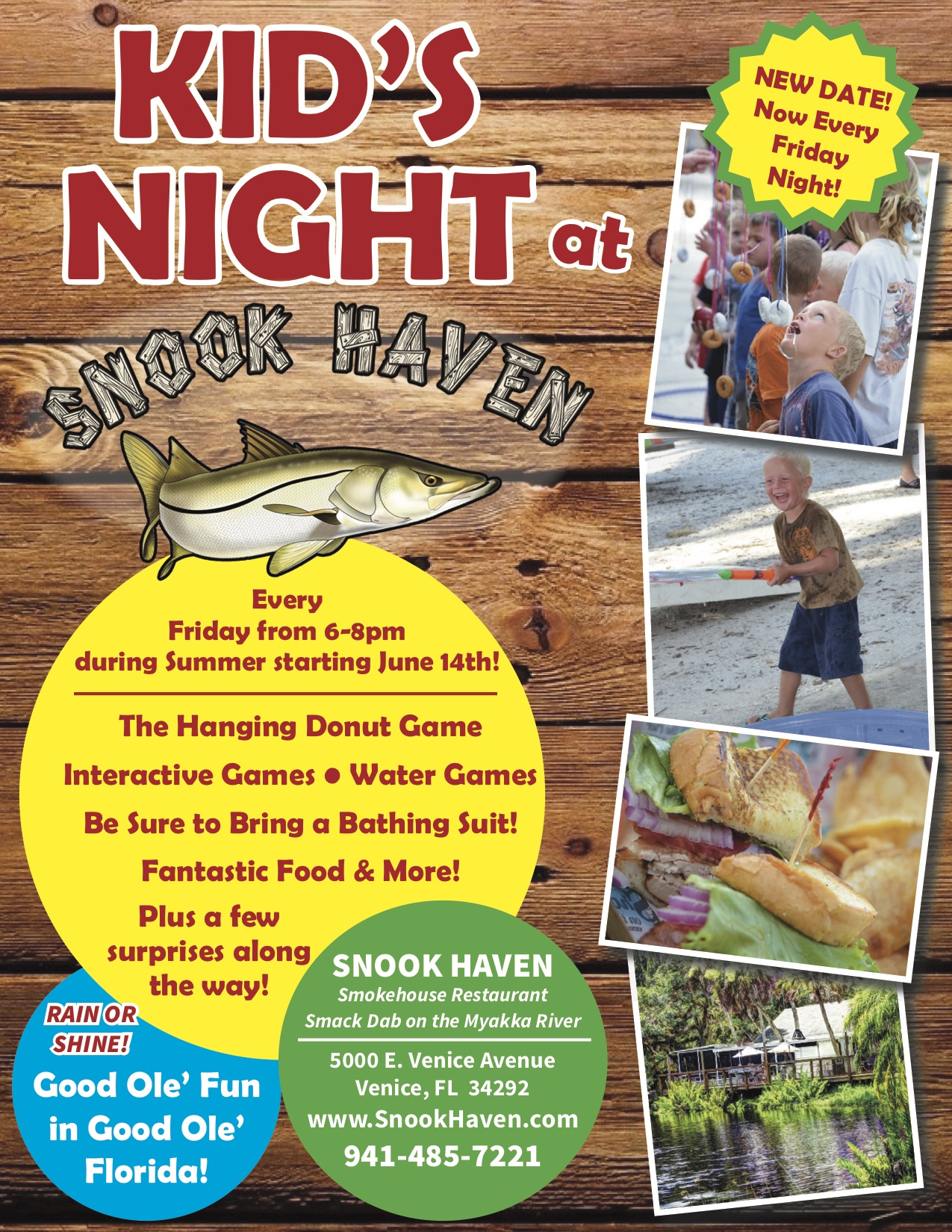 Kid's Night at Snook Haven