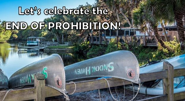 "Snook Haven to Celebrate the Repeal of Prohibition with ""Prohibition Day"""