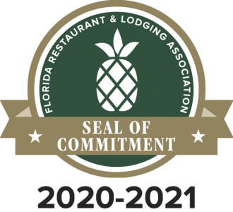 Sharky's on the Pier, Fins at Sharky's & Snook Haven Awarded FRLA Seal of Commitment