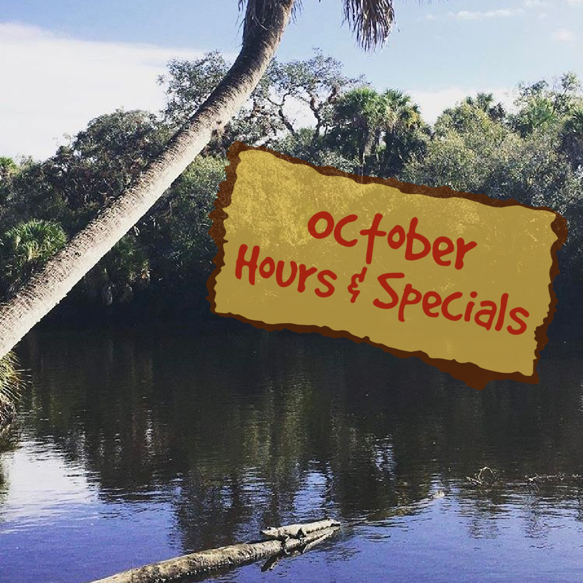 October Specials, Music & More at Snook Haven