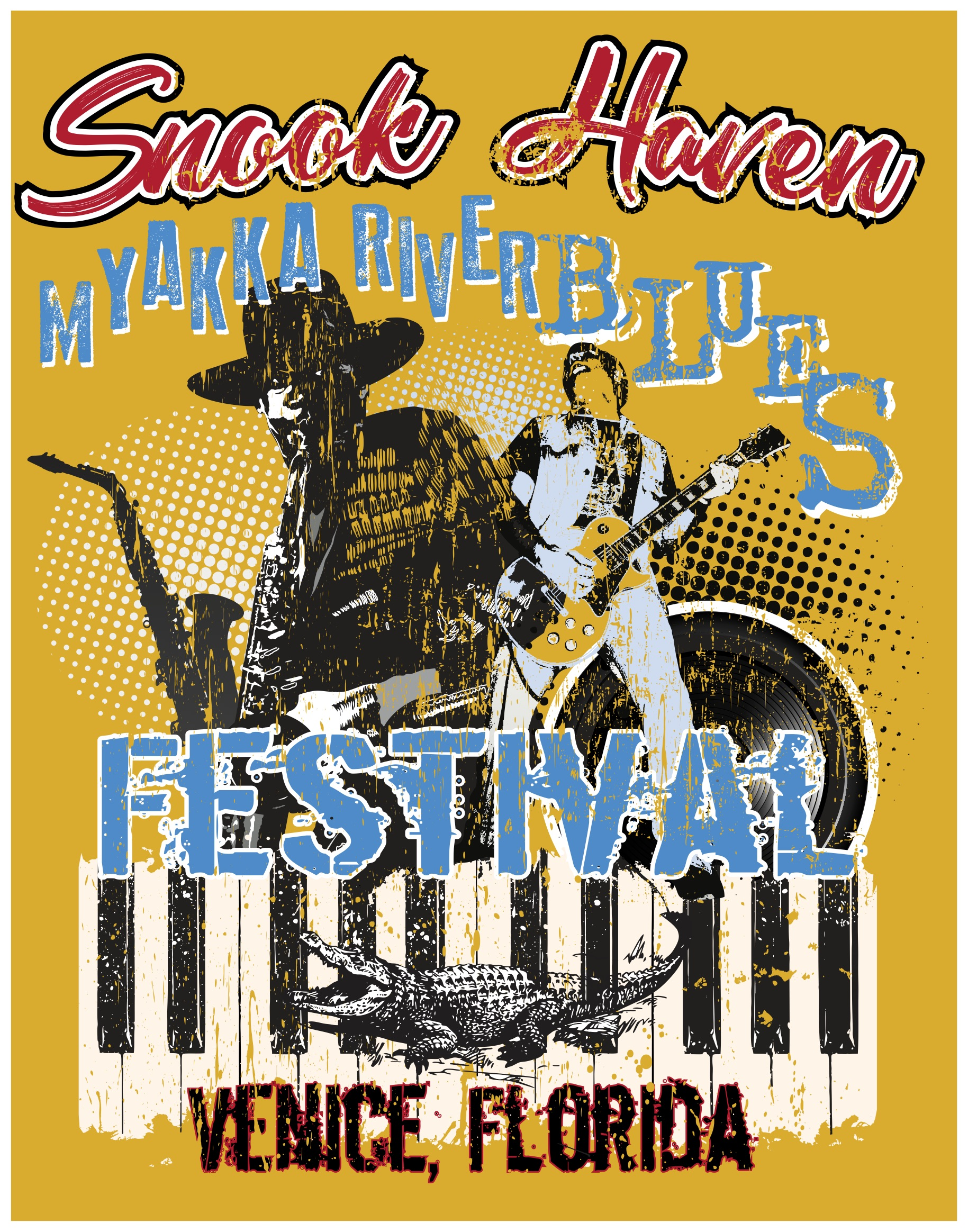 Snook Haven and the Suncoast Blues Society Present the 8th Annual Myakka River Blues Festival