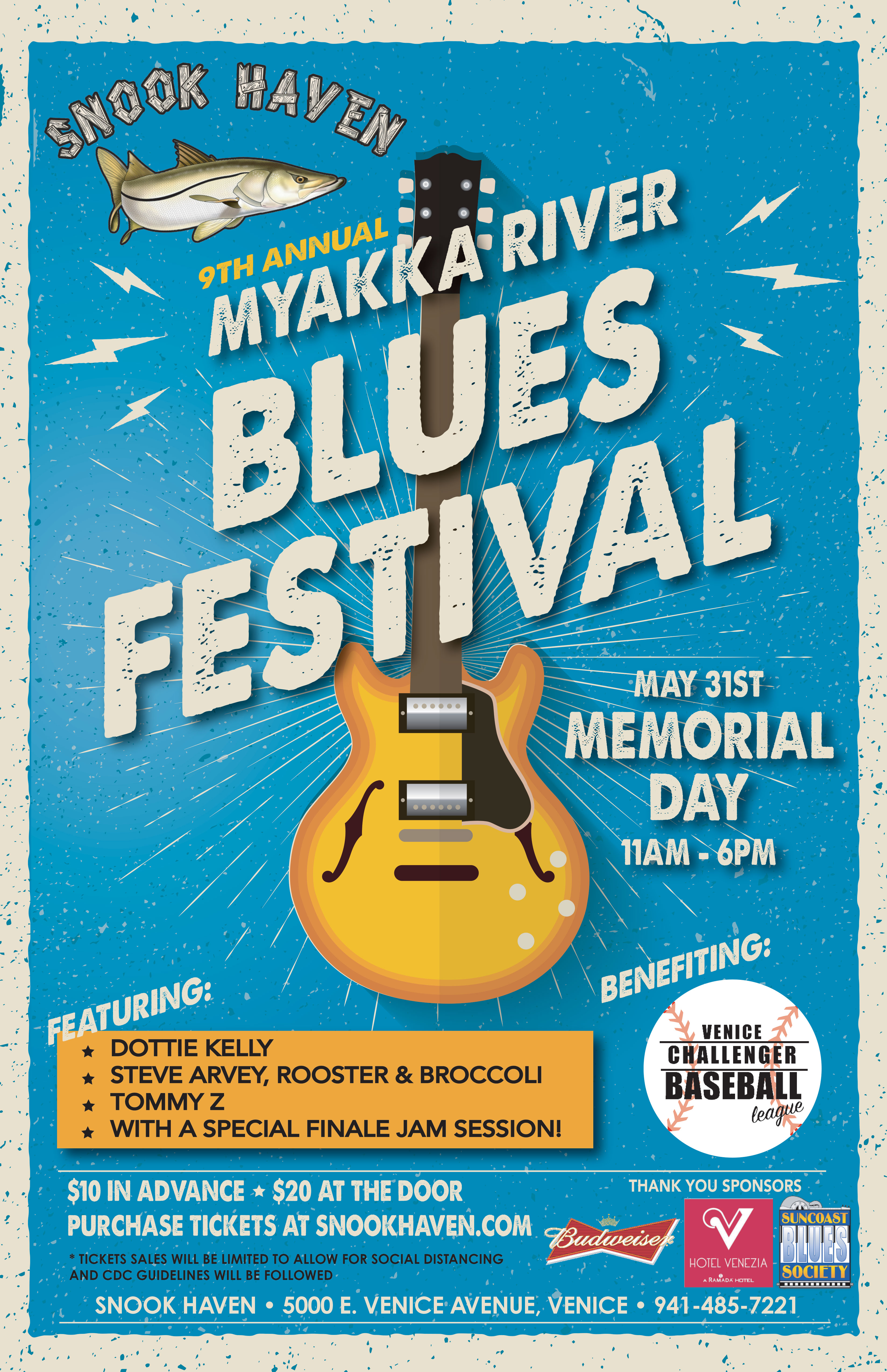 9th Annual Myakka River Blues Festival