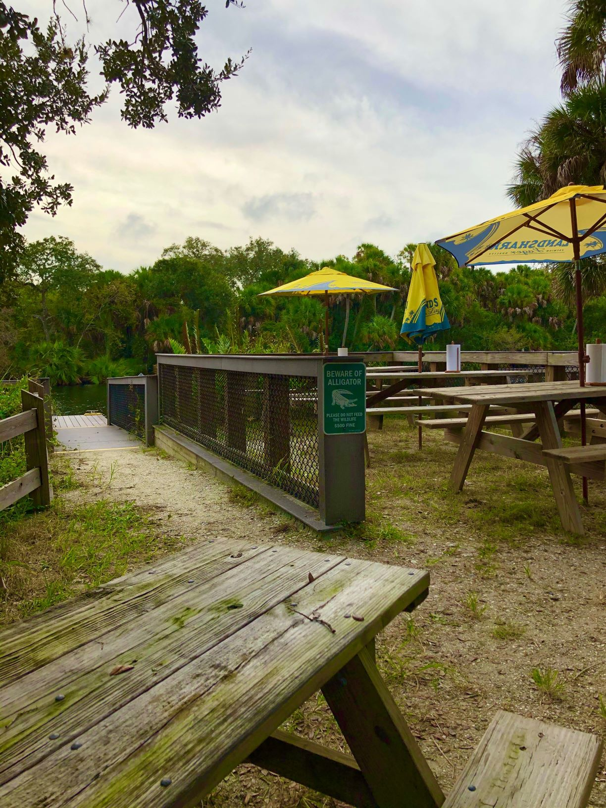 Snook Haven Picnic Tables Resize